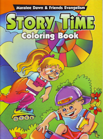 Story Time Coloring Book